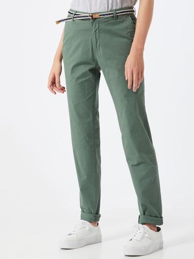 khaki ESPRIT Chino nadrág, Modell nézet