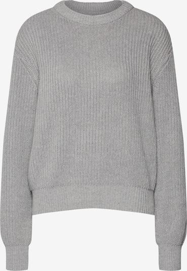 minimum Pullover 'Mikala' in graumeliert, Produktansicht