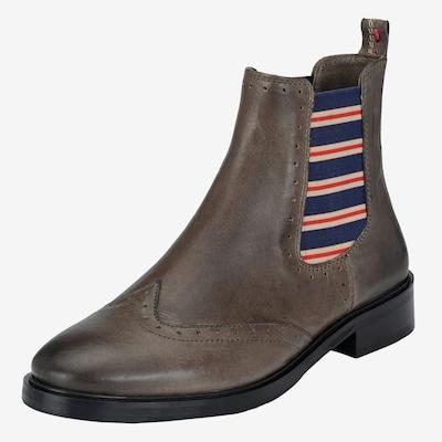 Crickit Chelsea boots 'MIKA' in de kleur Grijs: Vooraanzicht