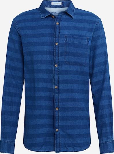 Dalykiniai marškiniai iš JACK & JONES , spalva - tamsiai (džinso) mėlyna, Prekių apžvalga