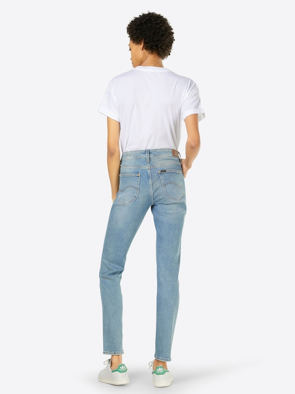 Lee Jeans 'Elly' in blue denim: Rückansicht