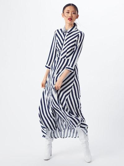 Y.A.S Robe-chemise 'YASSAVANNA' en bleu / blanc, Vue avec modèle