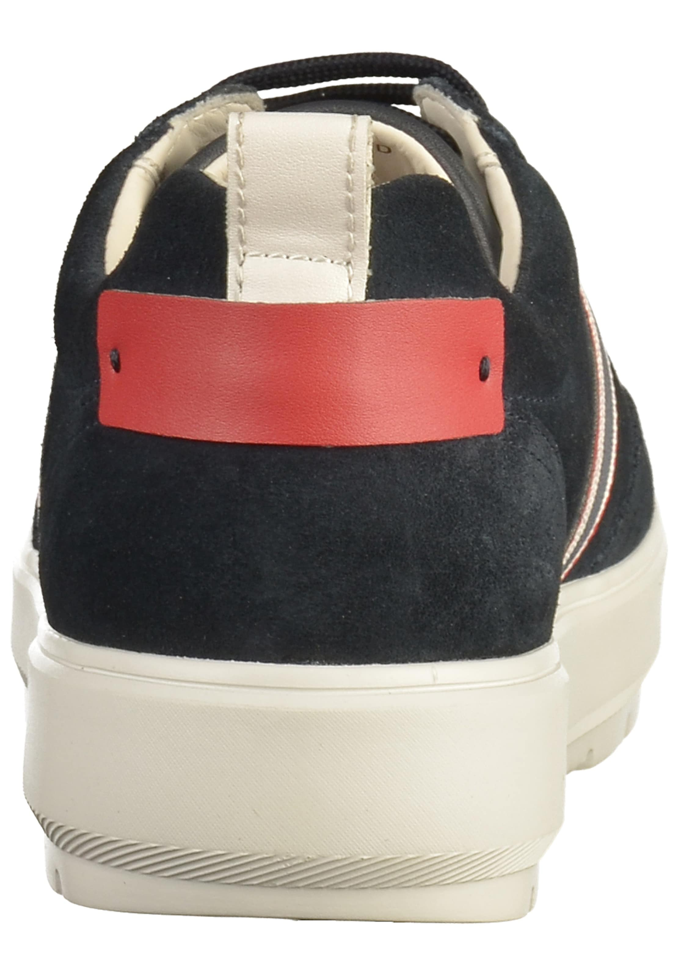 Laag Geox In NachtblauwRood Wit Sneakers TlF31KuJc