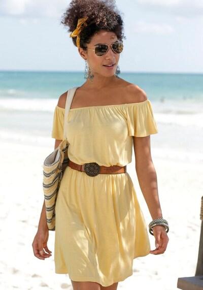 BUFFALO Kleid in gelb, Modelansicht