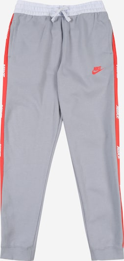 Pantaloni Nike Sportswear pe albastru / gri / roșu, Vizualizare produs