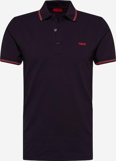 HUGO Polo Shirt 'Dinoso' in rot / schwarz, Produktansicht