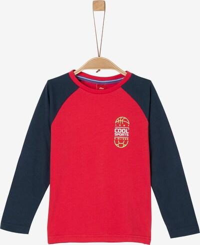 s.Oliver Shirt in nachtblau / rot, Produktansicht