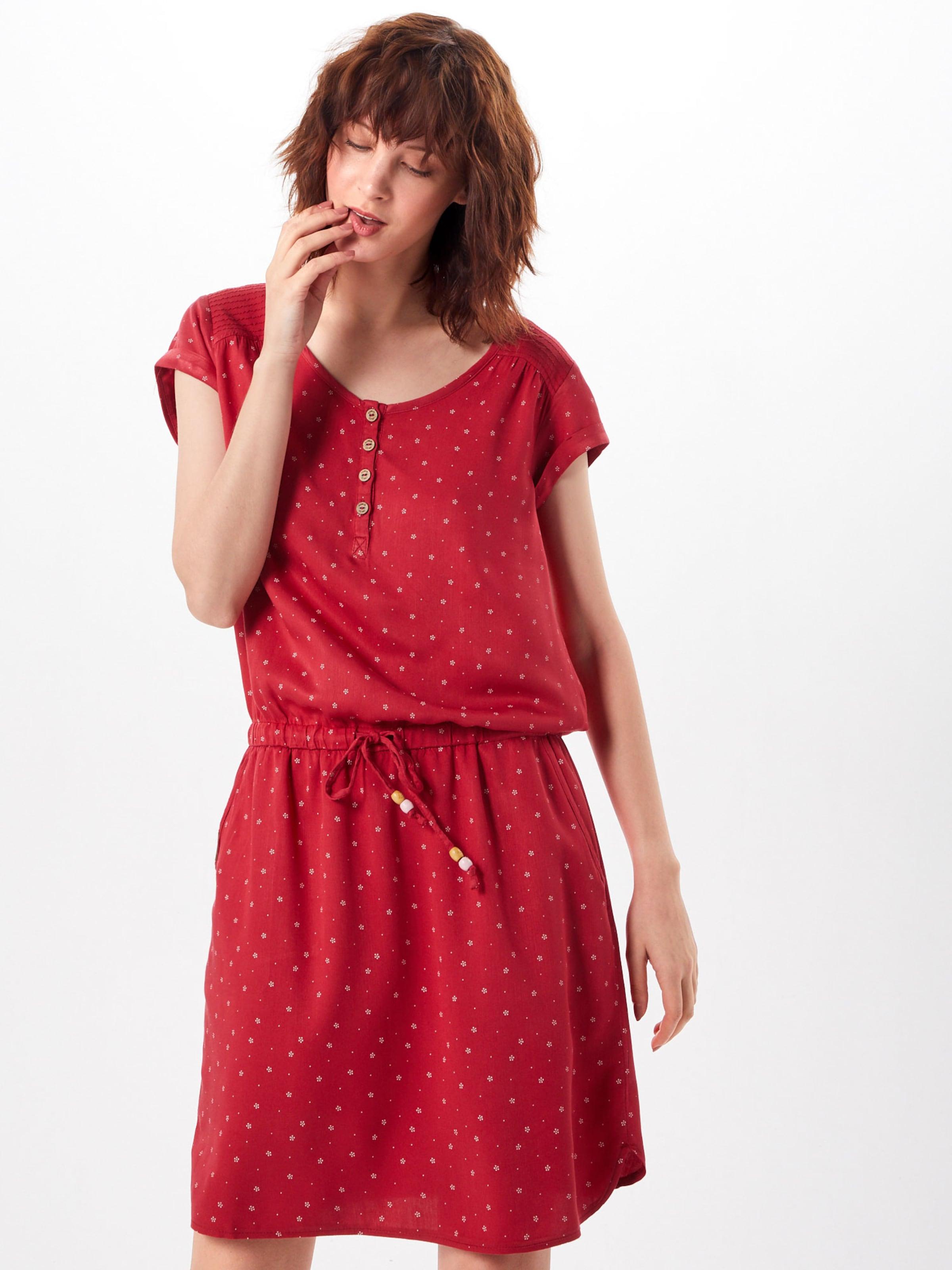 RotWeiß Kleid Ragwear Ragwear In 'danila' 'danila' Kleid In 0PmN8nOvyw