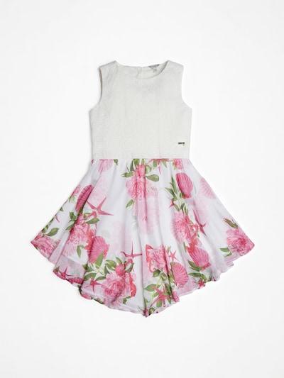 GUESS KIDS Kleid 'SPITZE' in altrosa / weiß, Produktansicht