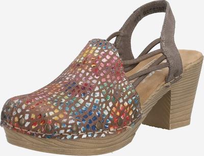 Sandale RIEKER pe culori mixte, Vizualizare produs