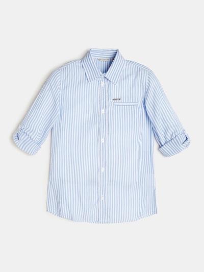 GUESS KIDS Hemd in hellblau / weiß, Produktansicht