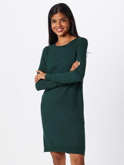 VILA Robes en maille en vert, Vue avec modèle