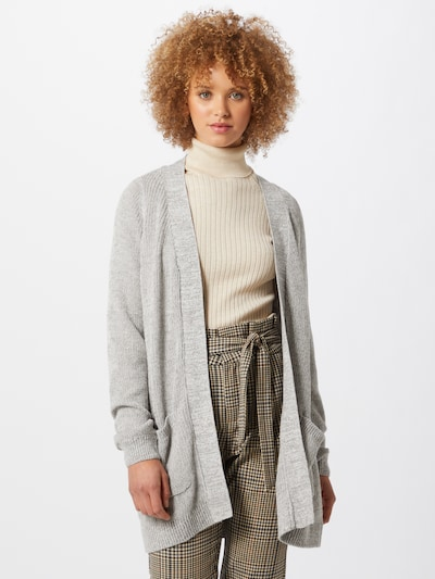 Noisy may Cardigan 'Arianna' in grau / greige, Modelansicht