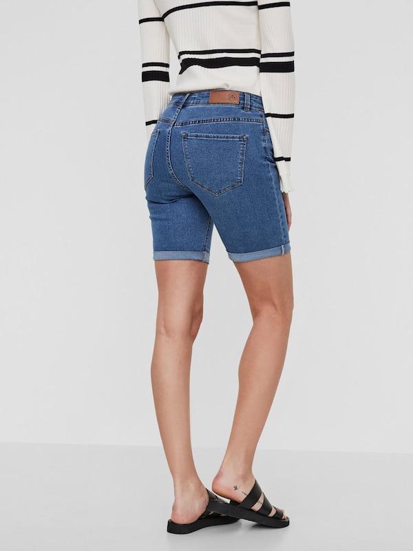 VERO MODA Long NW Denim Shorts