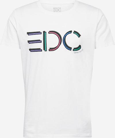 EDC BY ESPRIT Majica | mešane barve / bela barva: Frontalni pogled