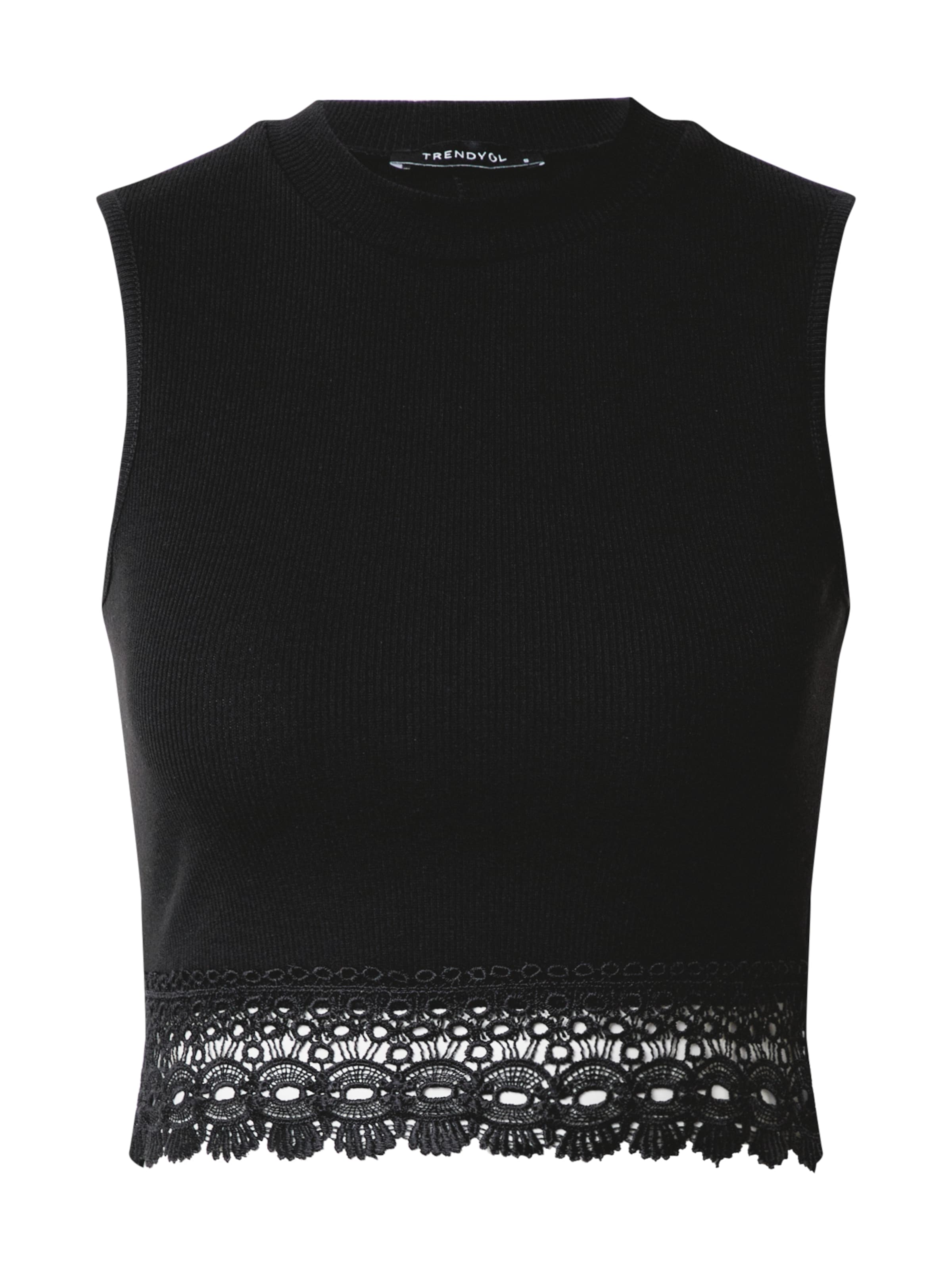 Trendyol Top in schwarz