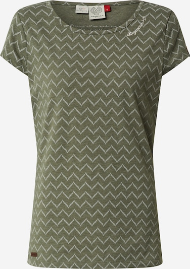 Tricou 'MINT ZIG ZAG' Ragwear pe verde, Vizualizare produs