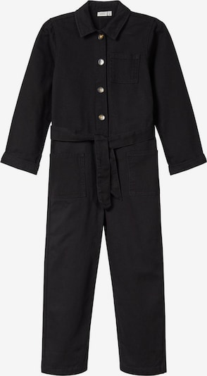 NAME IT Jumpsuit in schwarz: Frontalansicht