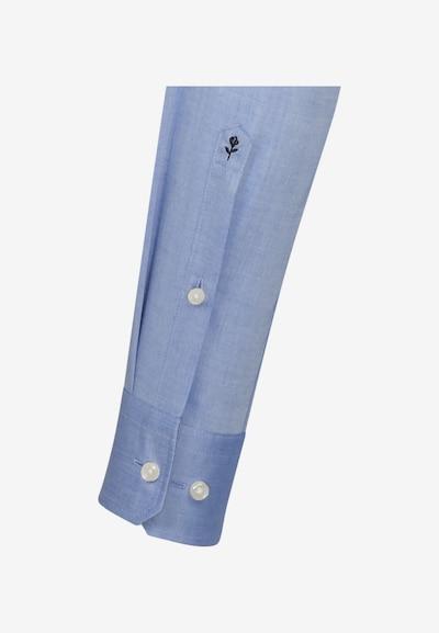 SEIDENSTICKER Hemd in rauchblau: Frontalansicht