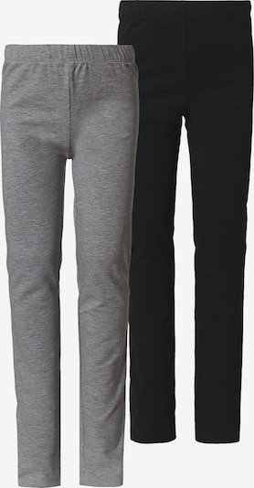 MINYMO Leggings in graumeliert / schwarz, Produktansicht