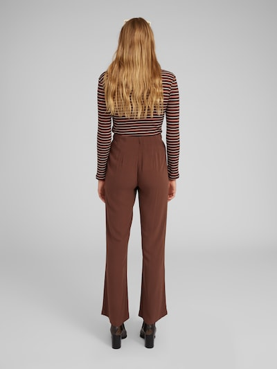Kelnės 'Nouha' iš EDITED , spalva - ruda: Vaizdas iš galinės pusės