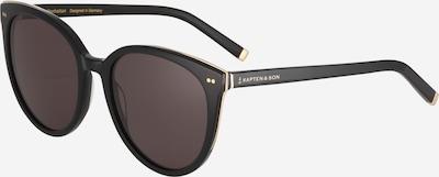Kapten & Son Sonnenbrille 'Manhatten' in schwarz, Produktansicht