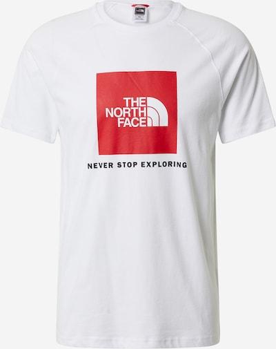Tricou THE NORTH FACE pe roșu / alb, Vizualizare produs
