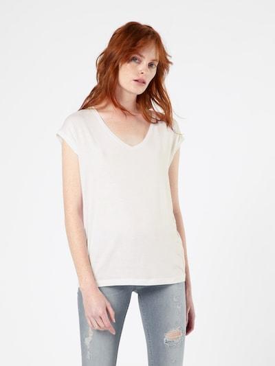 PIECES T-Shirt 'Billo' in weiß: Frontalansicht