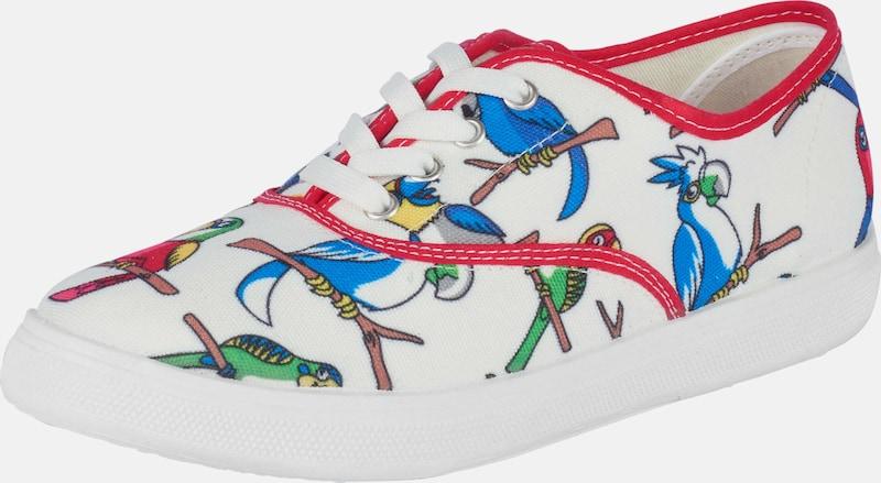 heine Sneaker mit Papageien-Print