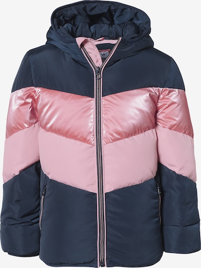 REVIEW FOR KIDS Winterjacke 'KG-19-J802' in navy / rosa, Produktansicht