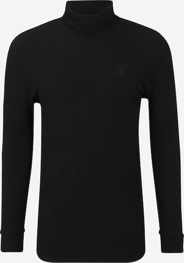 SikSilk Pullover in schwarz, Produktansicht