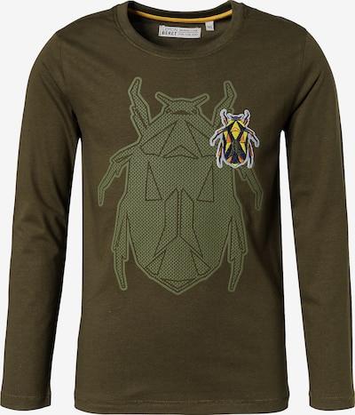 LEMON BERET Langarmshirt in khaki / apfel / mischfarben, Produktansicht