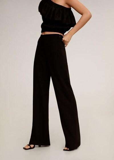 MANGO Hose 'palachin' in schwarz, Modelansicht
