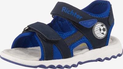 RICHTER Sandalen in blau / schwarz, Produktansicht