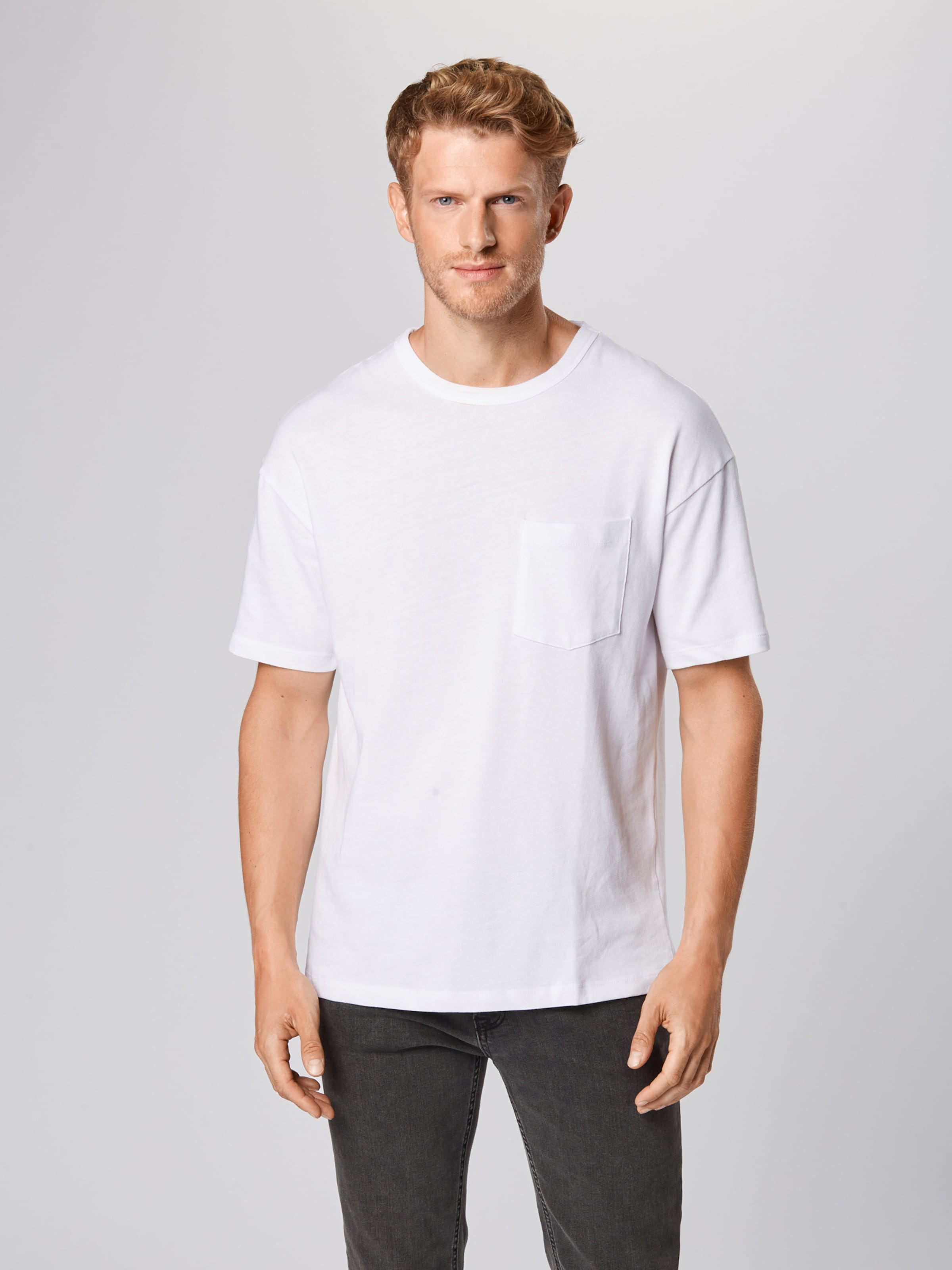 Shirt In 'lucas' Jackamp; Jones Weiß 3j5R4AL