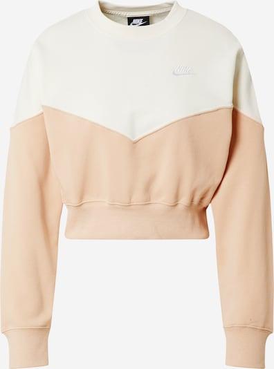 Nike Sportswear Sweatshirt in creme / rosa, Produktansicht