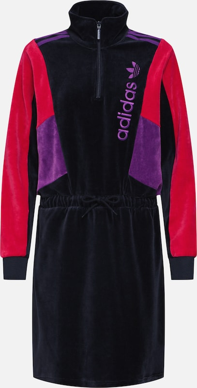 Adidas 'track Robe Originals Top RoseNoir Dress' En xhQsCtrdB