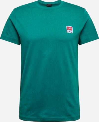 DIESEL Shirt 'DIEGO' in grün, Produktansicht