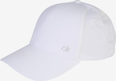 Cappello da baseball 'CK METAL CAP' Calvin Klein di colore bianco, Visualizzazione prodotti