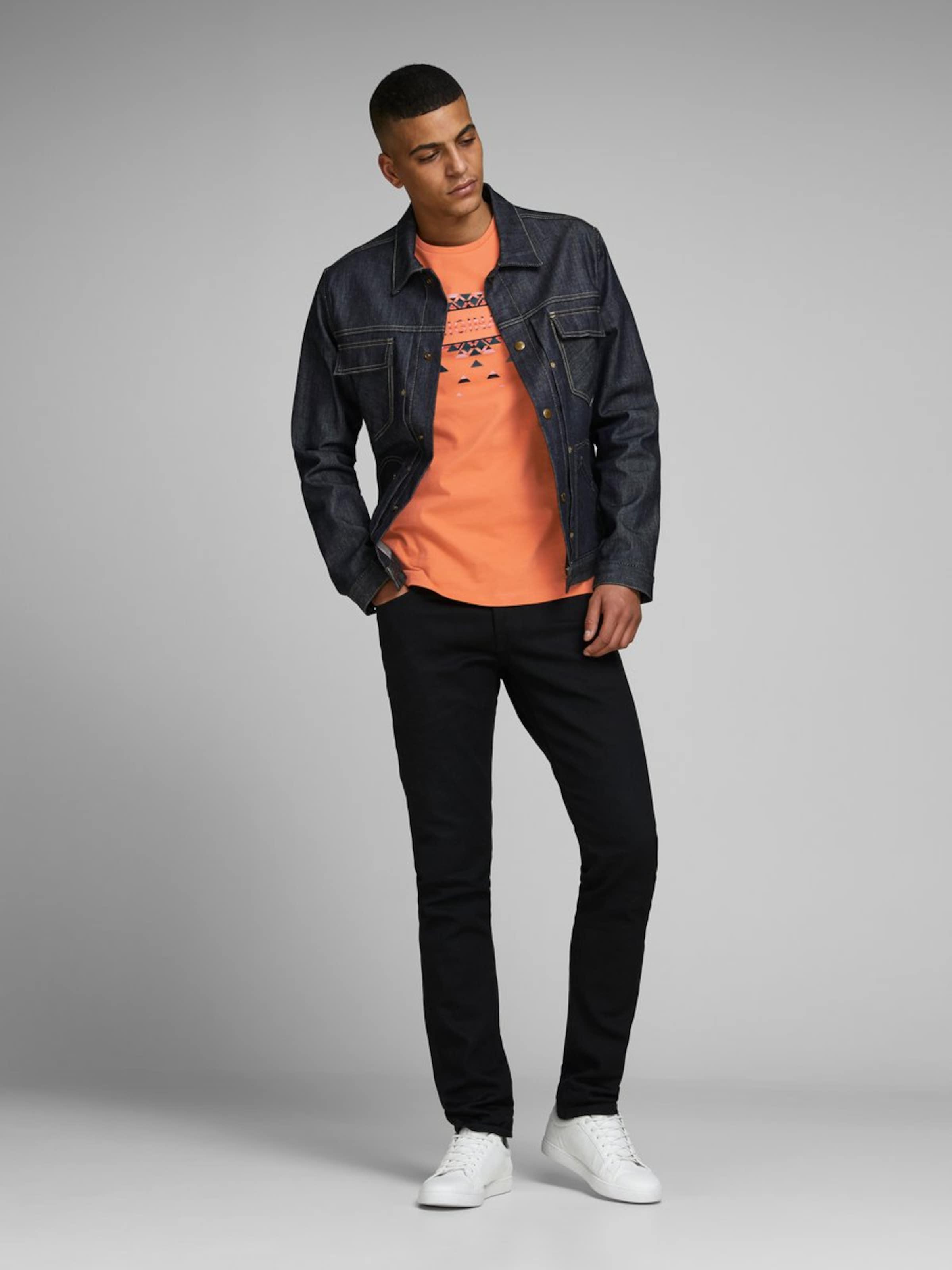 Noir Jackamp; T shirt Rose ÉmeraudeCorail En Jones PXTOkZui