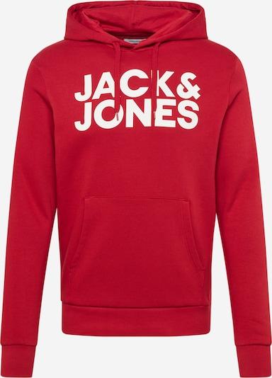 JACK & JONES Sweatshirt in rot, Produktansicht
