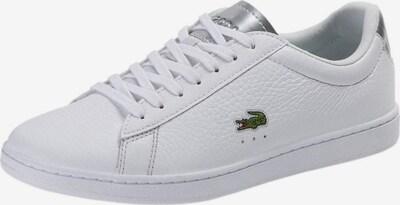 LACOSTE Sneaker in silber / weiß, Produktansicht