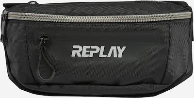 REPLAY Gürteltasche in grau / schwarz, Produktansicht