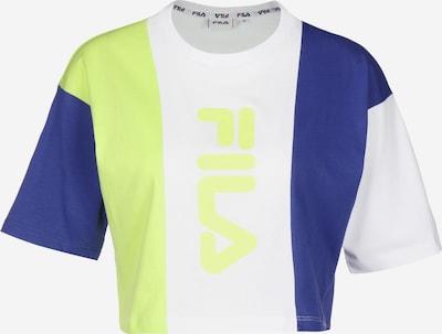 FILA T-Shirt 'Bai' in blau / hellgrün / weiß, Produktansicht