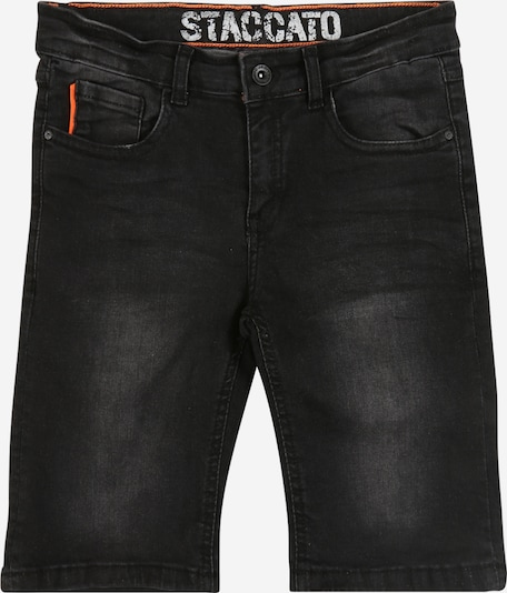 STACCATO Jeansbermuda in black denim, Produktansicht