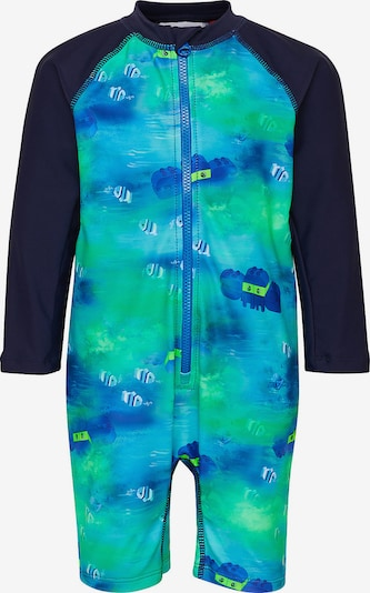 LEGO WEAR Schwimmanzug in blau / kobaltblau / grün, Produktansicht