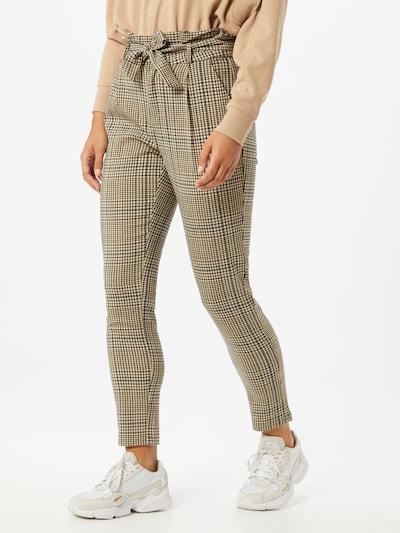 Pantaloni cu dungă 'Eva' VERO MODA pe maro / culori mixte, Vizualizare model
