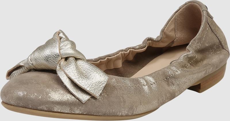 Donna Carolina Ballerinas mit Schleife