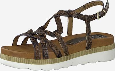 MARCO TOZZI Sandalette in braun, Produktansicht