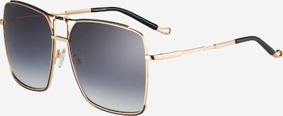 Matthew Williamson Sonnenbrille 'PEONY' in gold / schwarz, Produktansicht
